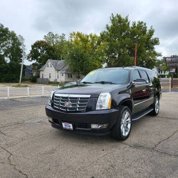 2014 Cadillac Escalade ESV for sale at Bibian Brothers Auto Sales & Service in Joliet IL