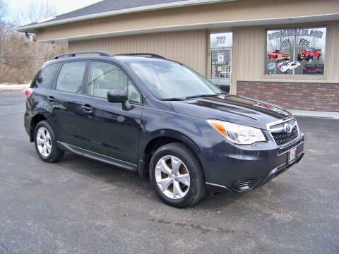 2015 Subaru Forester for sale at RPM Auto Sales in Mogadore OH