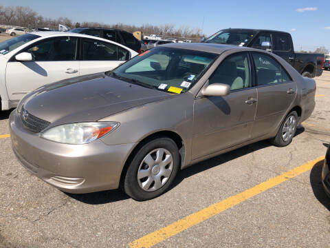 2003 Toyota Camry for sale at Sonny Gerber Auto Sales in Omaha NE