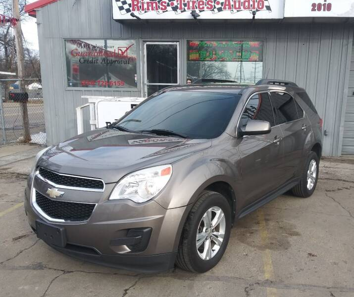 2010 Chevrolet Equinox for sale at Wicked Motorsports in Muskegon MI