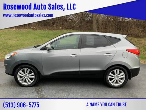 2013 Hyundai Tucson for sale at Rosewood Auto Sales, LLC in Hamilton OH