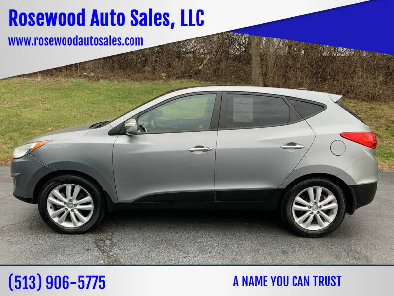 2013 Hyundai Tucson for sale at Rosewood Auto Sales, LLC in Hamilton OH