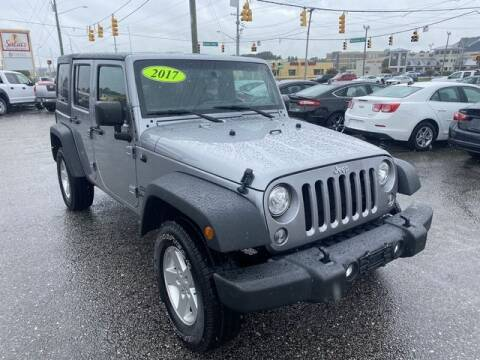 2017 Jeep Wrangler Unlimited for sale at Sell Your Car Today in Fayetteville NC