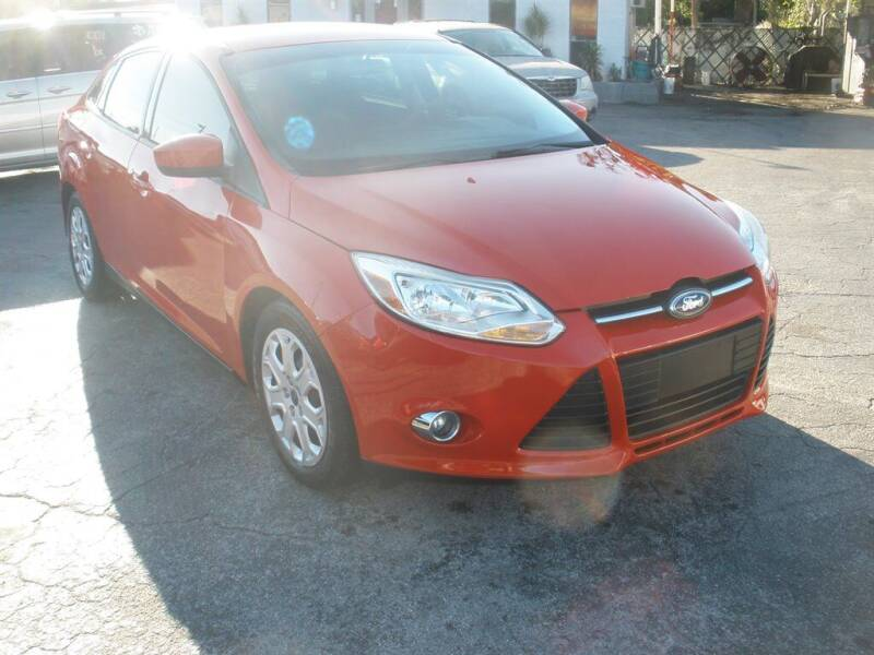 2012 Ford Focus for sale at Priceline Automotive in Tampa FL