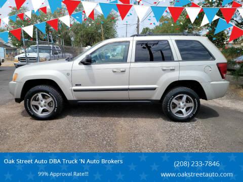2007 Jeep Grand Cherokee for sale at Oak Street Auto DBA Truck 'N Auto Brokers in Pocatello ID