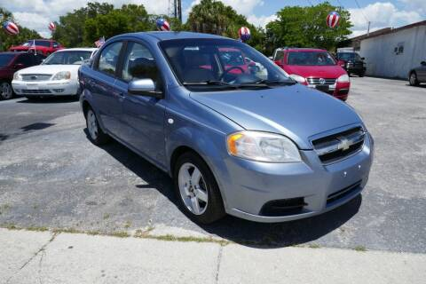 2007 Chevrolet Aveo for sale at J Linn Motors in Clearwater FL
