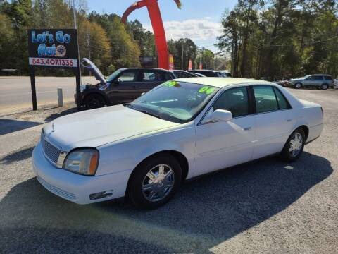 2004 Cadillac DeVille for sale at Let's Go Auto in Florence SC