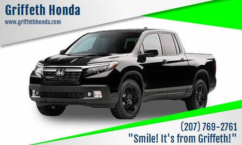2017 Honda Ridgeline for sale at Griffeth Honda - Pre Owned in Presque Isle ME