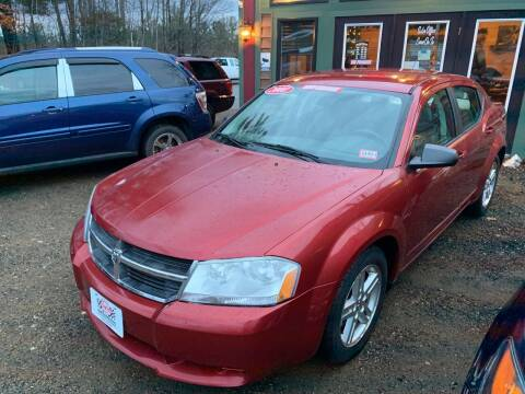 2008 Dodge Avenger for sale at Winner's Circle Auto Sales in Tilton NH