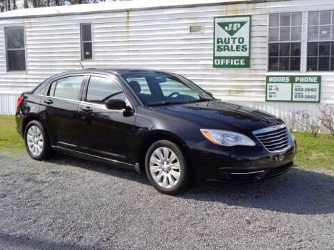 2012 Chrysler 200 for sale at J & P Auto Sales INC in Olanta SC