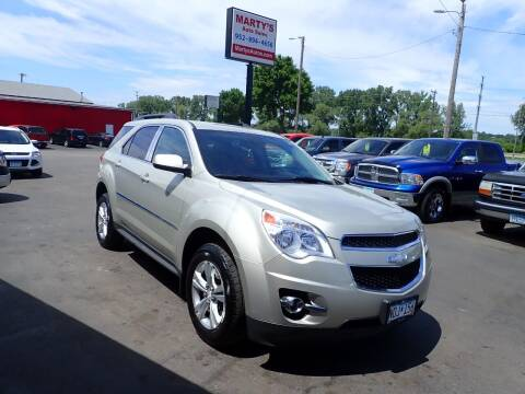 2014 Chevrolet Equinox for sale at Marty's Auto Sales in Savage MN
