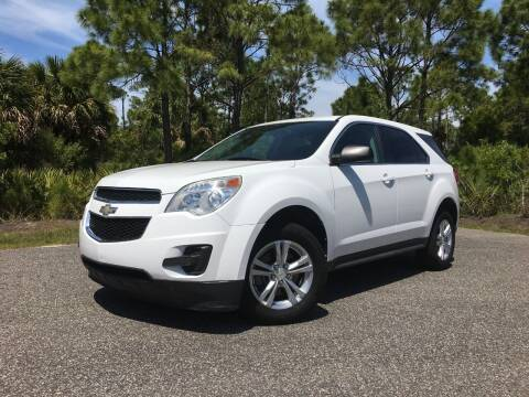 2012 Chevrolet Equinox for sale at VICTORY LANE AUTO SALES in Port Richey FL