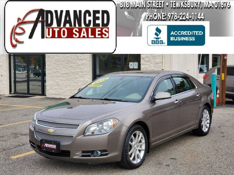 2012 Chevrolet Malibu for sale at Advanced Auto Sales in Tewksbury MA