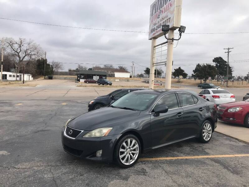 2006 Lexus IS 250 for sale at Patriot Auto Sales in Lawton OK