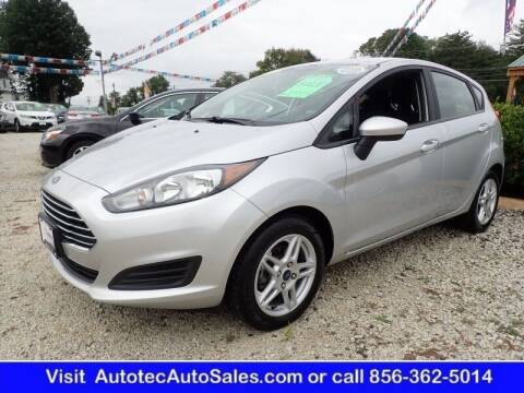 2019 Ford Fiesta for sale at Autotec Auto Sales in Vineland NJ