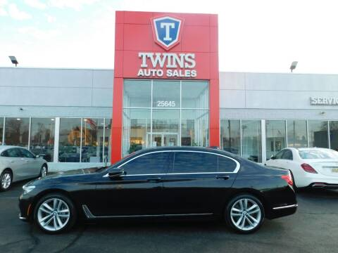 2017 BMW 7 Series for sale at Twins Auto Sales Inc in Detroit MI