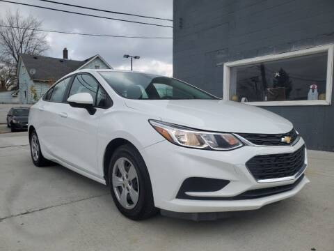 2016 Chevrolet Cruze for sale at Julian Auto Sales, Inc. - Number 1 Car Company in Detroit MI