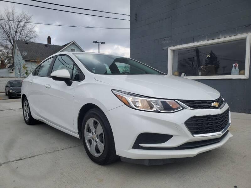 2016 Chevrolet Cruze for sale at Julian Auto Sales, Inc. in Warren MI