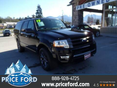 2017 Ford Expedition EL for sale at Price Ford Lincoln in Port Angeles WA
