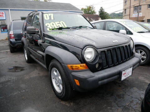 2007 Jeep Liberty for sale at M & R Auto Sales INC. in North Plainfield NJ