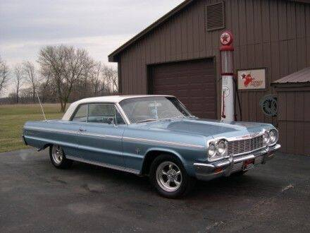 1964 Chevrolet Impala for sale at Haggle Me Classics in Hobart IN