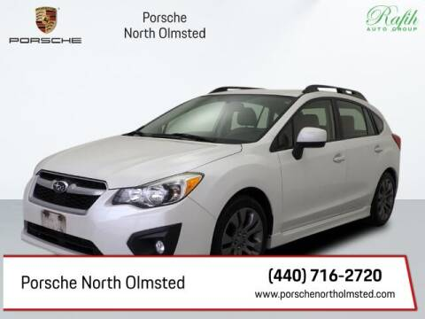 2013 Subaru Impreza for sale at Porsche North Olmsted in North Olmsted OH