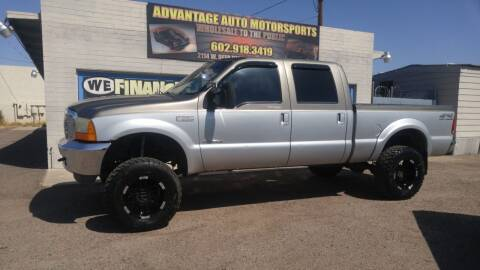 2001 Ford F-250 Super Duty for sale at Advantage Auto Motorsports in Phoenix AZ