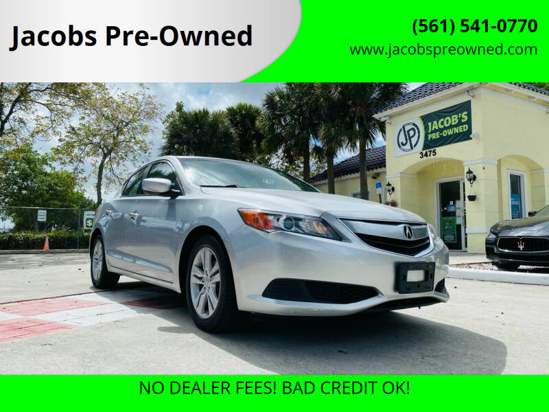 2013 Acura ILX for sale at Jacobs Pre-Owned in Lake Worth FL