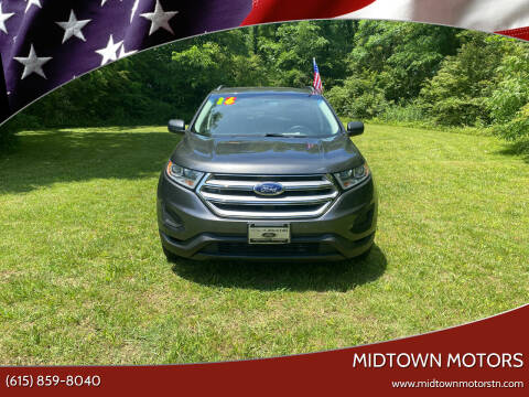 2016 Ford Edge for sale at Midtown Motors in Greenbrier TN