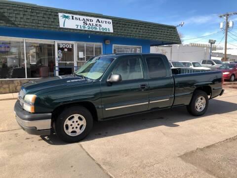 2003 Chevrolet Silverado 1500 for sale at Island Auto Sales in Colorado Springs CO