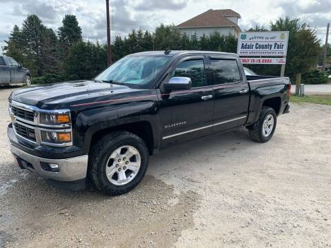 2014 Chevrolet Silverado 1500 for sale at GREENFIELD AUTO SALES in Greenfield IA