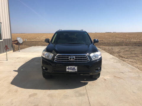 2010 Toyota Highlander for sale at 402 Autos in Lindsay NE