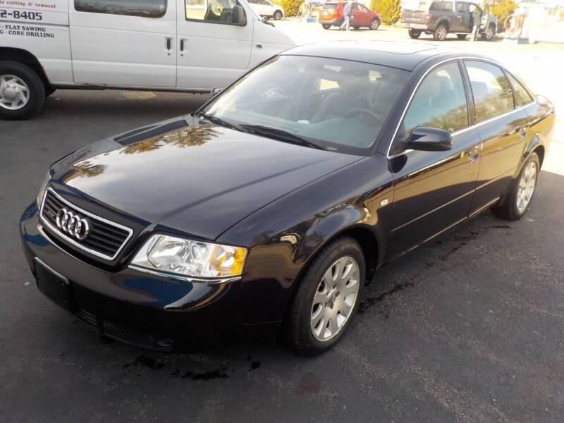2001 Audi A6 for sale at RTE 123 Village Auto Sales Inc. in Attleboro MA