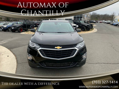 2020 Chevrolet Equinox for sale at Automax of Chantilly in Chantilly VA