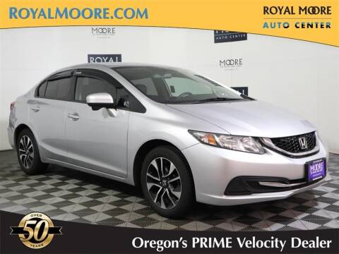2014 Honda Civic for sale at Royal Moore Custom Finance in Hillsboro OR