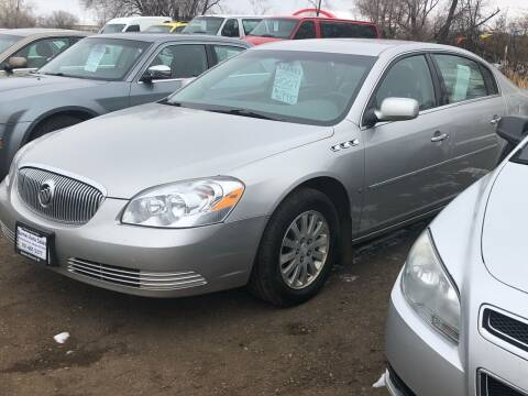 2007 Buick Lucerne for sale at BARNES AUTO SALES in Mandan ND