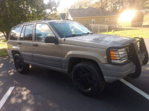 1997 Jeep Grand Cherokee for sale at Happy Days Auto Sales in Piedmont SC