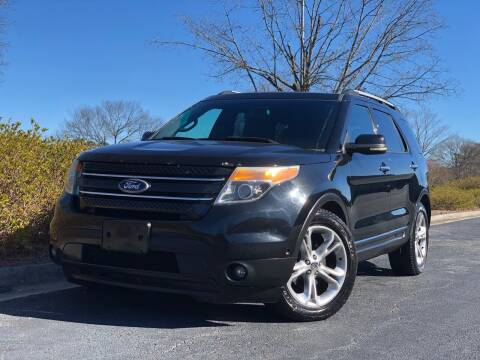 2011 Ford Explorer for sale at William D Auto Sales in Norcross GA