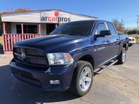2012 RAM Ram Pickup 1500 for sale at Arkansas Car Pros in Cabot AR