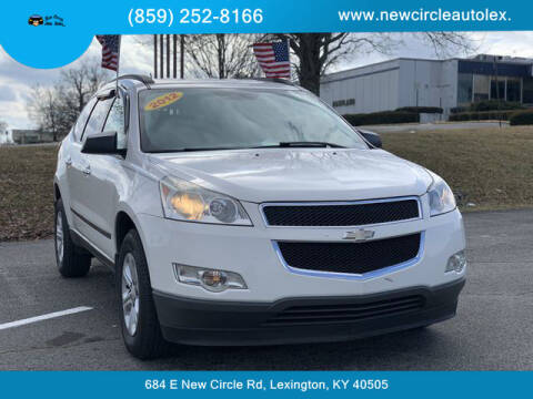 2012 Chevrolet Traverse for sale at New Circle Auto Sales LLC in Lexington KY