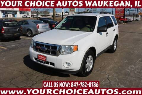 2012 Ford Escape for sale at Your Choice Autos - Waukegan in Waukegan IL