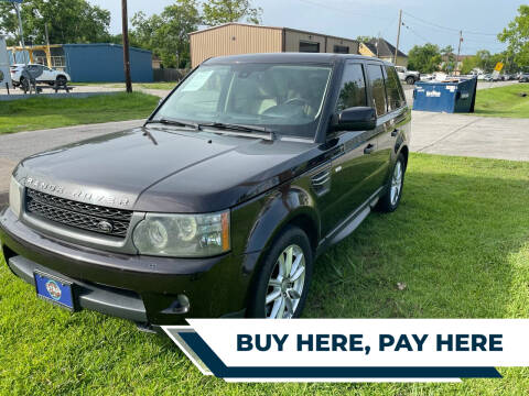 2010 Land Rover Range Rover Sport for sale at H3 MOTORS in Dickinson TX