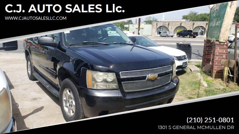 2007 Chevrolet Suburban for sale at C.J. AUTO SALES llc. in San Antonio TX