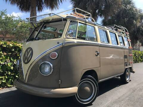 1974 Volkswagen Vanagon for sale at DS Motors in Boca Raton FL
