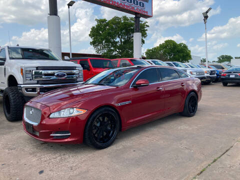 2012 Jaguar XJL for sale at ANF AUTO FINANCE in Houston TX