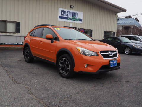 2013 Subaru XV Crosstrek for sale at Crestwood Auto Sales in Swansea MA