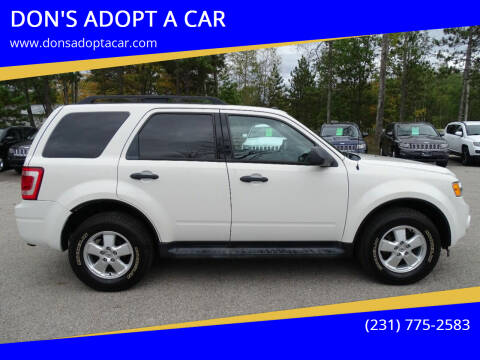 2012 Ford Escape for sale at DON'S ADOPT A CAR in Cadillac MI