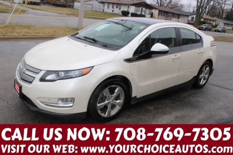 2012 Chevrolet Volt for sale at Your Choice Autos in Posen IL