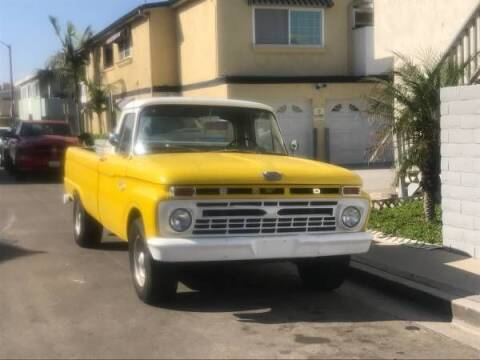 1966 Ford F-250 for sale at Classic Car Deals in Cadillac MI