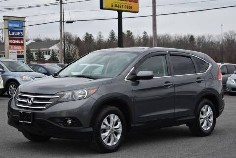 2012 Honda CR-V for sale at Broadway Garage of Columbia County Inc. in Hudson NY